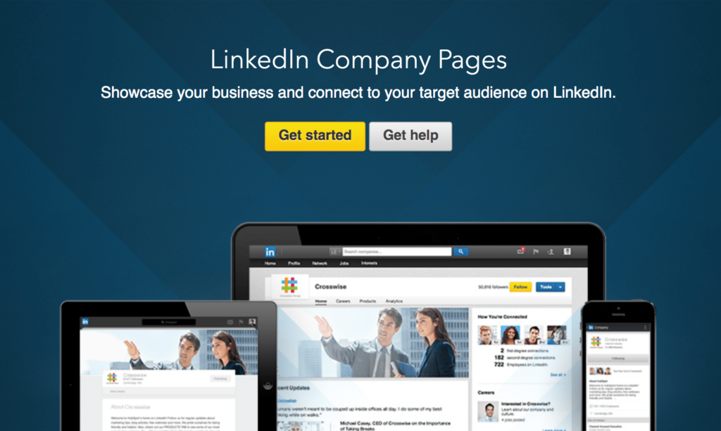 Linkedin Marketing Company Page Intro