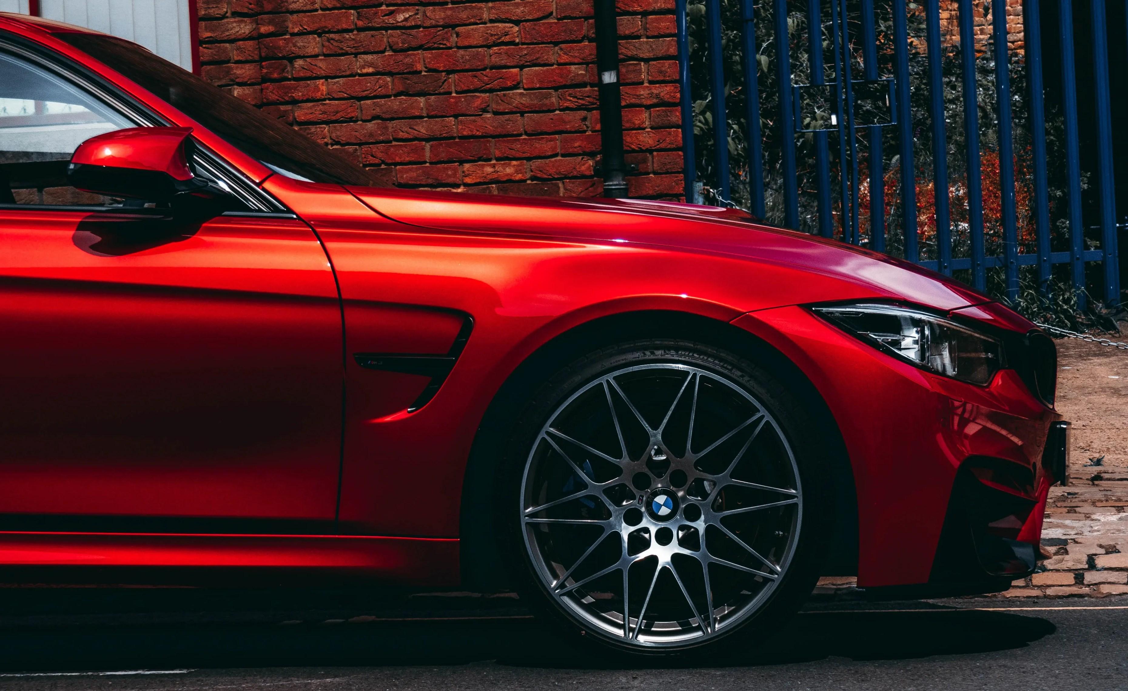 SmartOne Auto Dealerships Marketing Red BMW